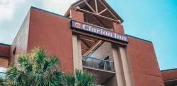 O Clarion é uma excelente alternativa de hotel bom e barato perto da Disney.
