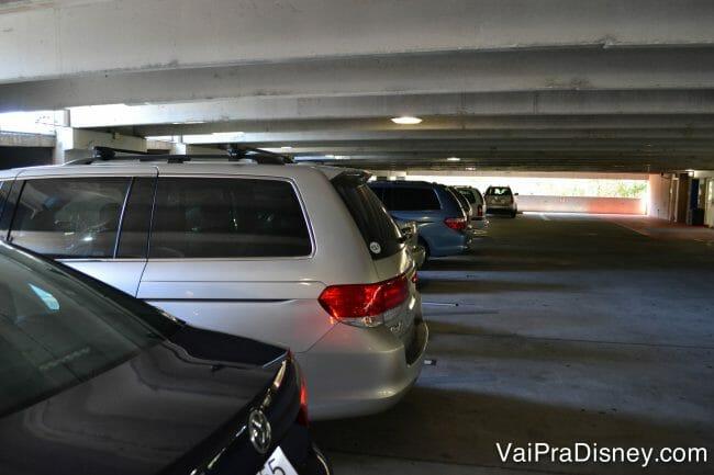 Não se esqueça de registrar onde você parou o carro nos estacionamentos dos parques, heim?