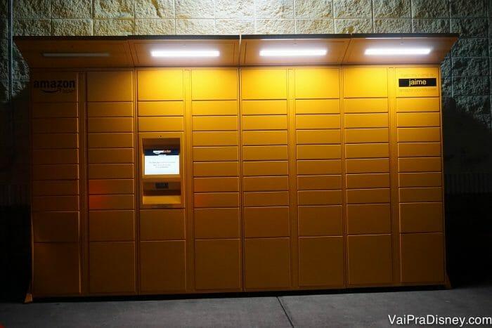 Nosso Amazon Locker favorito: o Jaime, na International Drive.