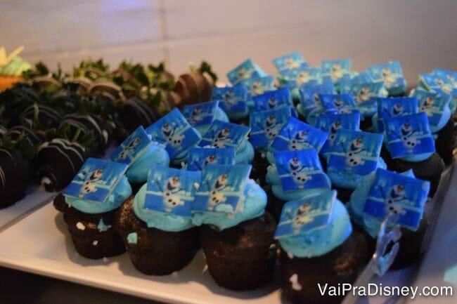 Cupcake do olaf! :)