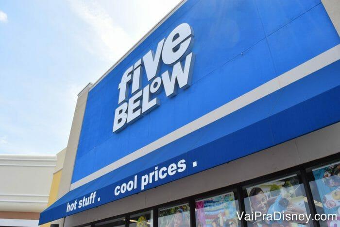 Uma das lojas da Five Below em Orlando.
