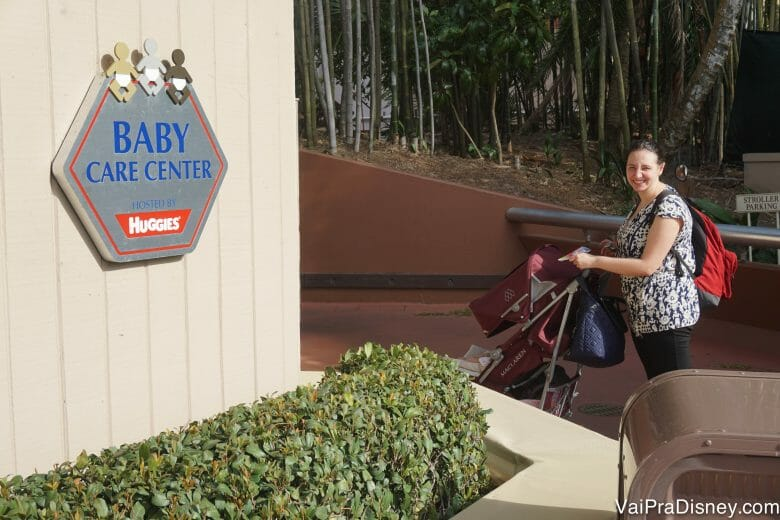 O Baby Care Center do Epcot é ótimo!