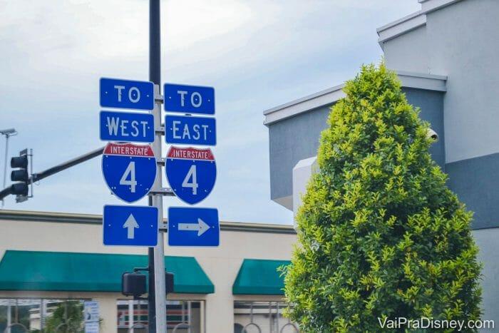 Vai ficar só em Orlando e não quer pensar em pedágios? A I-4 não tem pedágio entre no trecho entre Tampa e Winterpark e pode ser uma ótima opção.