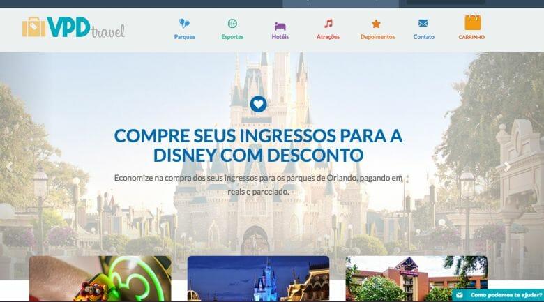 O VPD Travel, site de vendas de ingressos com desconto. Dá uma olhada e depois conte pra gente o que achou, tá? ;)