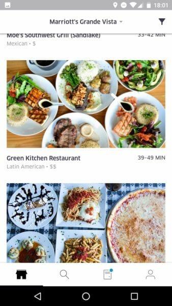 Green Kitchen é um restaurante saudável que eu adoro aqui em Orlando.