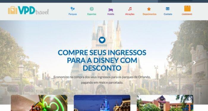 E-ticket da Disney: O VPD tem um outro site só para a venda de ingressos e hospedagem para nossos leitores. É o VPD Travel.
