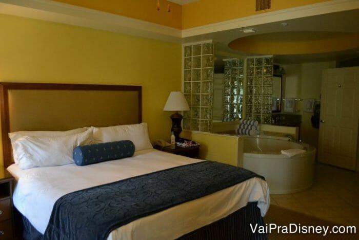 Também tem quartão nos apartamentos dos hotéis.