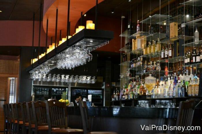 Bar do restaurante.