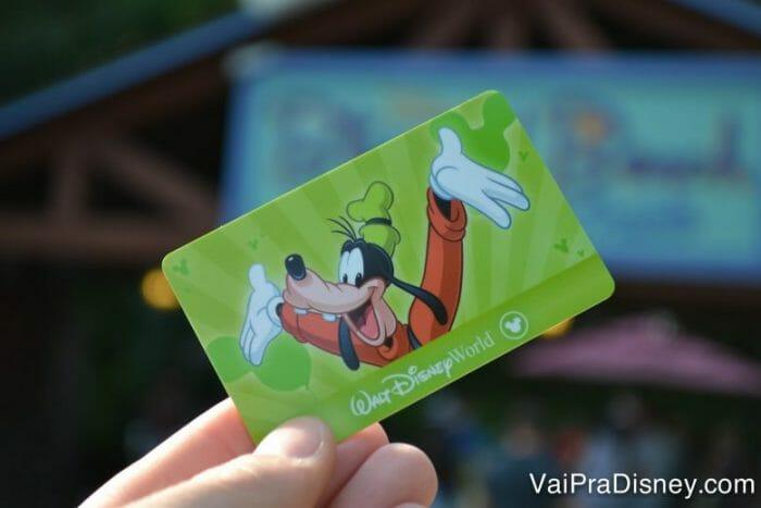 E-ticket da Disney: Saudade de quando o ingresso era assim, com os personagens todos!
