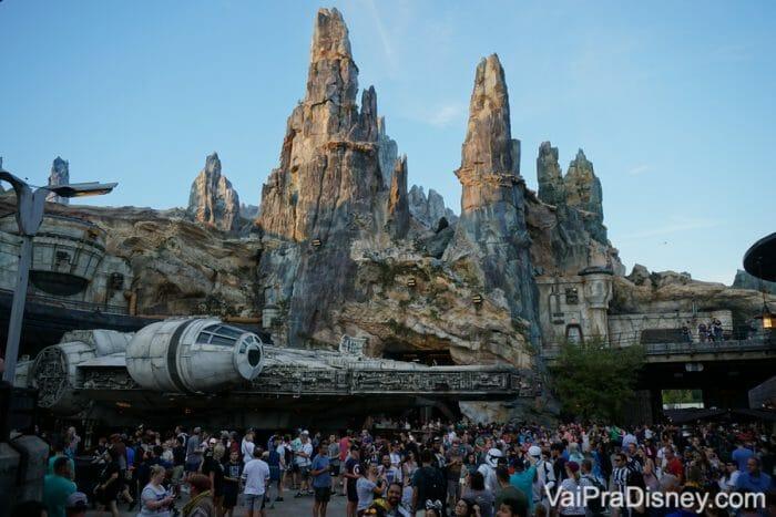 A Star Wars: Galaxy's Edge é a novidade no parque Hollywood Studios