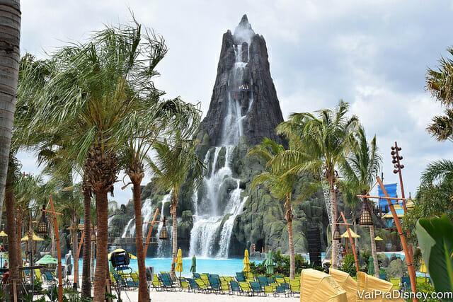 Se as chuvas começarem a apertar em um dia de parque aquático, você não vai conseguir fazer praticamente nada.