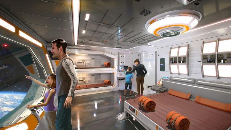 E lembrando que mais pra frente vai ter hotel de Star Wars com experiência interativa também!