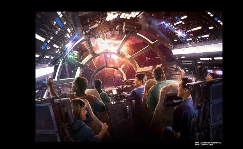 Star Wars Galaxy's Edge vai ser DEMAIS!
