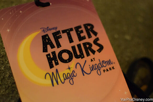 After Hours at Magic Kingdom