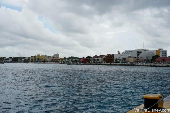 Um pouquinho mais de Cozumel nesse dia chuvoso.