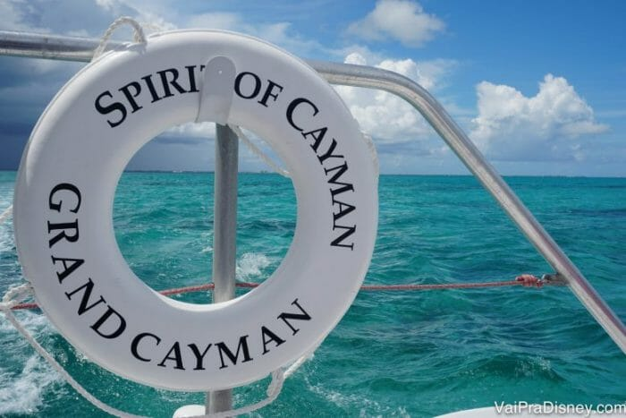 Parada do dia: Grand Cayman!