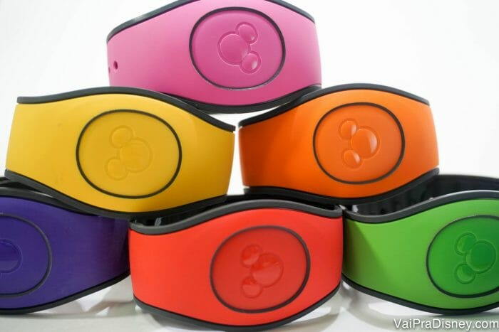 As famosas magicbands da Disney que todos querem usar