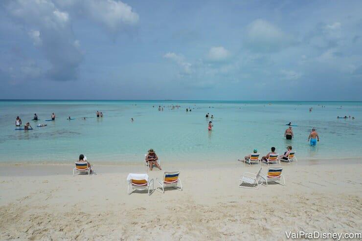 Spoiler do que nos esperava no dia seguinte: a maravilhosa ilha da Disney em Bahamas!