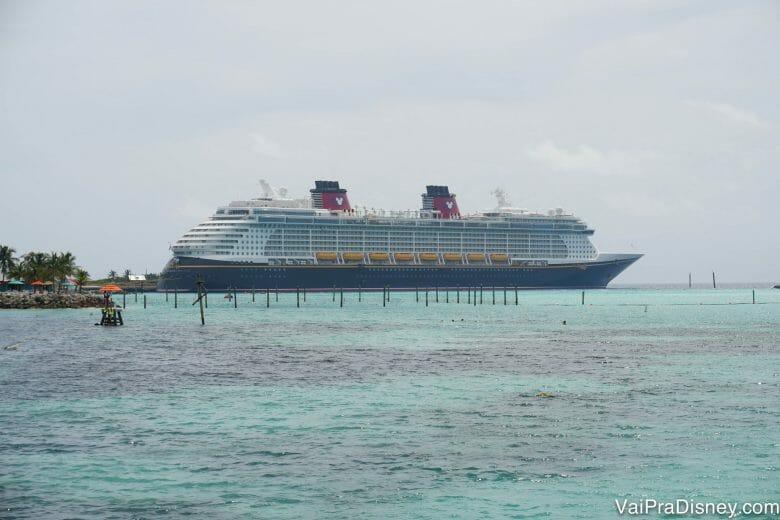 Melhor parada dos cruzeiros do Caribe, não tem jeito! Castaway Cay é um sonho de tão linda!