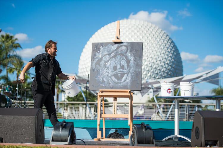O Epcot International Festival of the Arts celebra todos os tipos de arte.