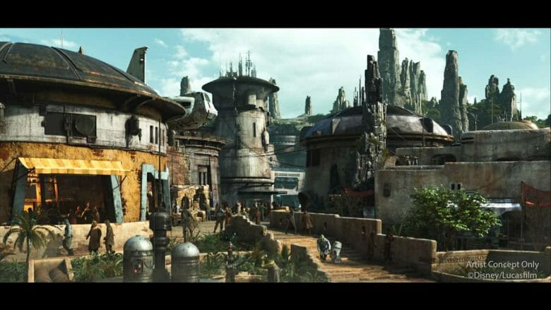 Tudo indica que vai ser a área mais tematizada e imersiva da Disney toda.