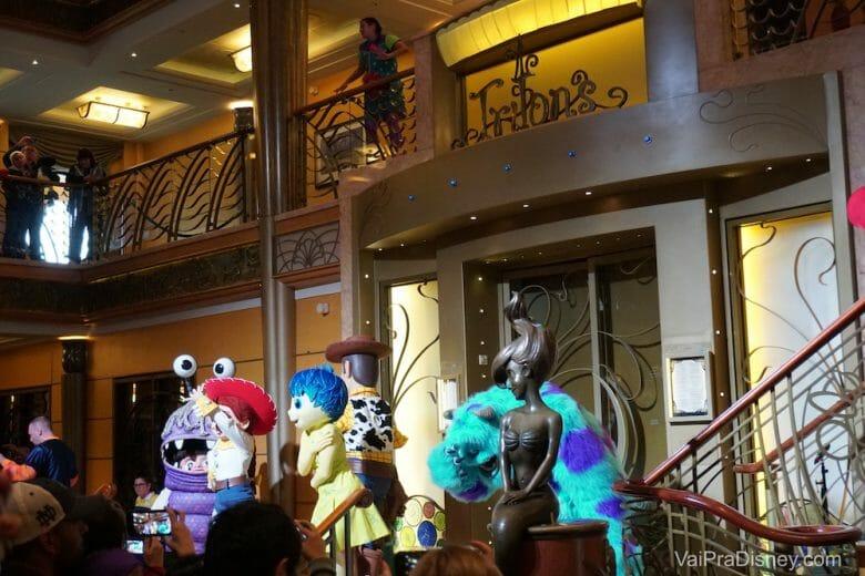 Festinha da Pixar!