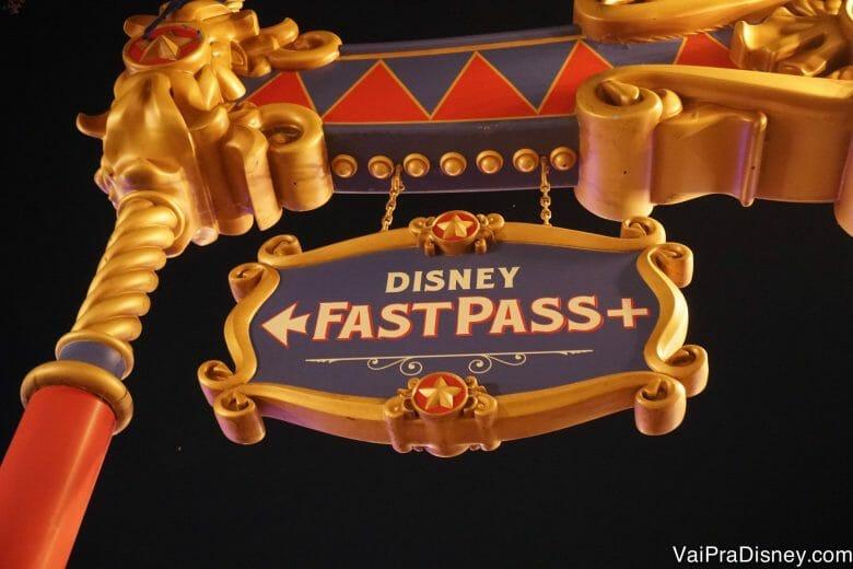 Muitas atrações tem disponibilidade para agendamento de Fastpass+ lá no parque mesmo.