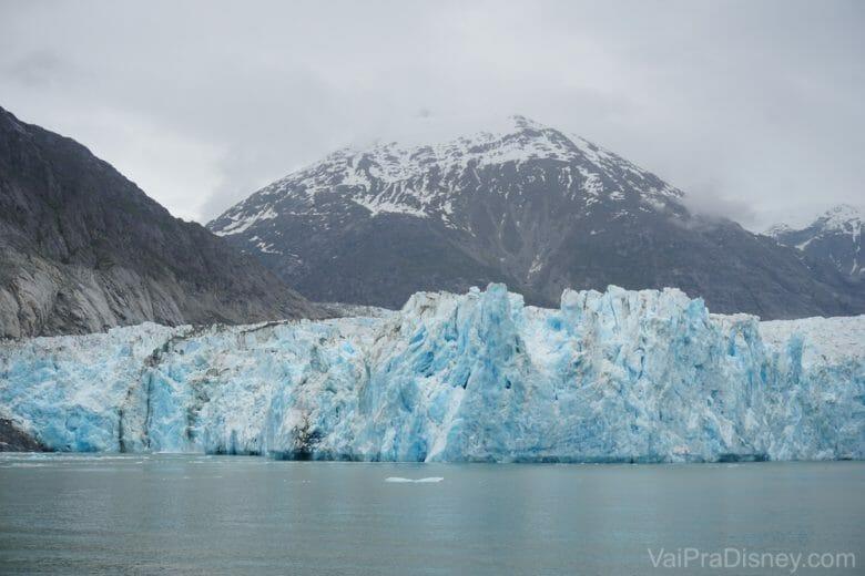 Antes do pedaço de gelo cair, já era uma imagem LINDA!