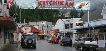 O sexto dia do cruzeiro foi em Ketchikan!