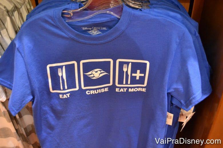 A camiseta que define a viagem!