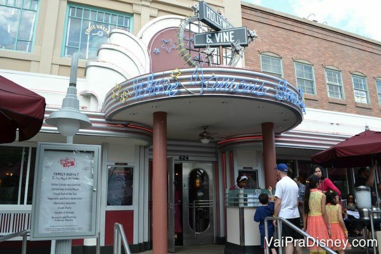 O Hollywood & Vine é super temático e charmoso!