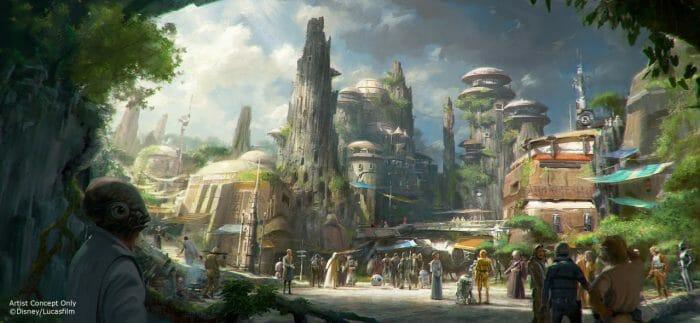 Esse reboliço todo vai ser causado por conta da inauguração mais esperada dos últimos anos: Star Wars Galaxy's Edge!