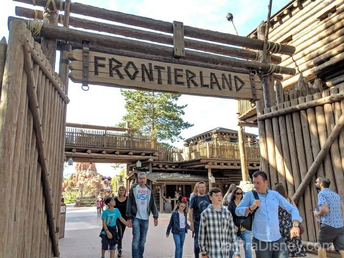 Disneyland Paris - Frontierland