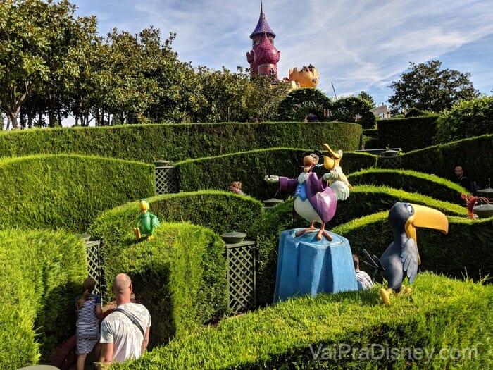 Disneyland Paris - Labirinto da Alice é mais legal para as crianças mesmo