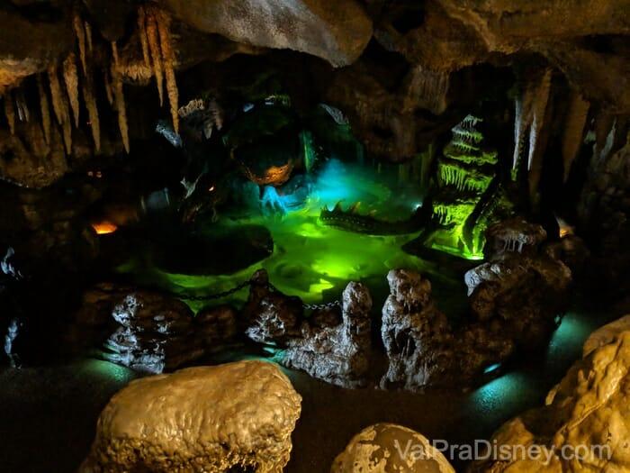 """Disneyland Paris - O dragão """"escondido"""" embaixo do castelo"""