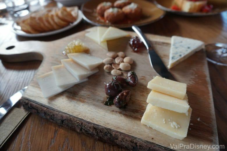Não nego uma tábua de queijos né?