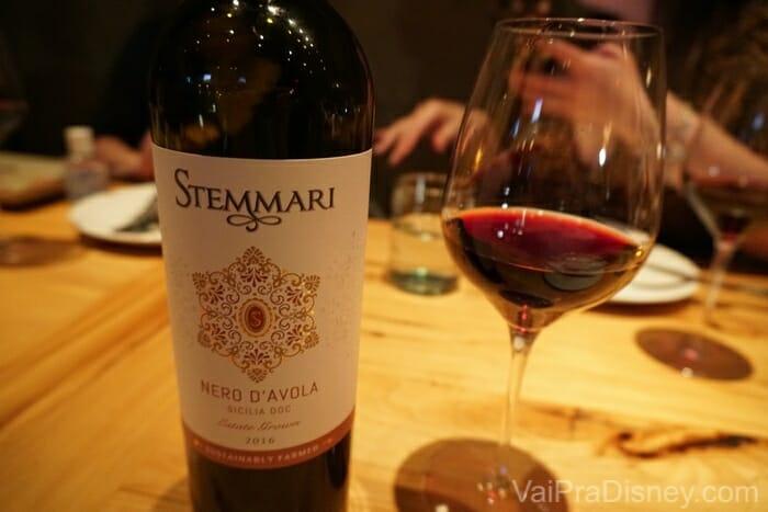 O vinho encareceu nossa conta também, mas achei tudo super justo pela experiência que tivemos.