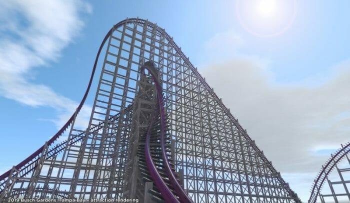 Novas atrações de Orlando - Nova montanha russa híbrida do Busch Gardens