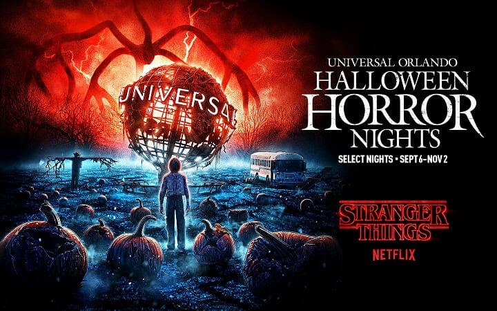 Stranger Things de volta à festa da Universal!