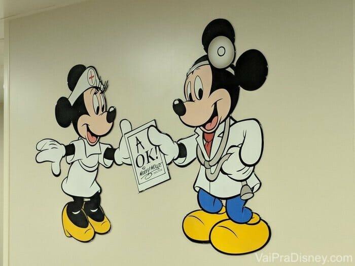 Já que fui no  ambulatório, já tirei uma foto né? :)