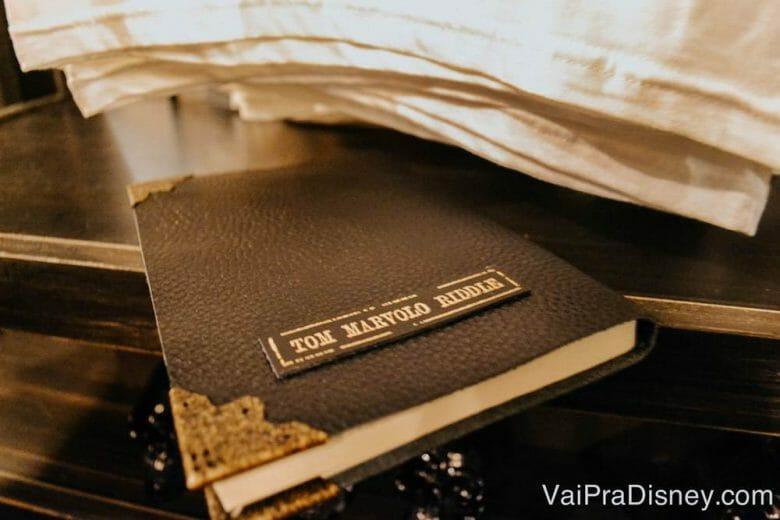 O diário do Tom Riddle!