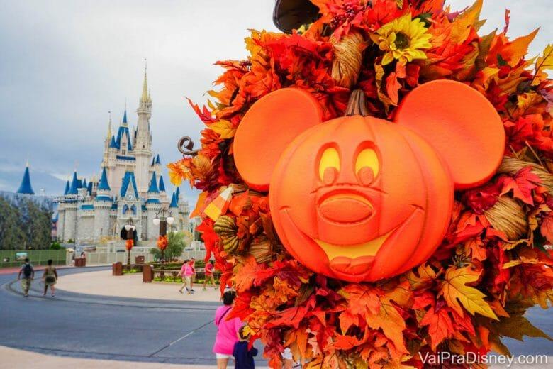 Em setembro já começa a época de Halloween em Orlando!