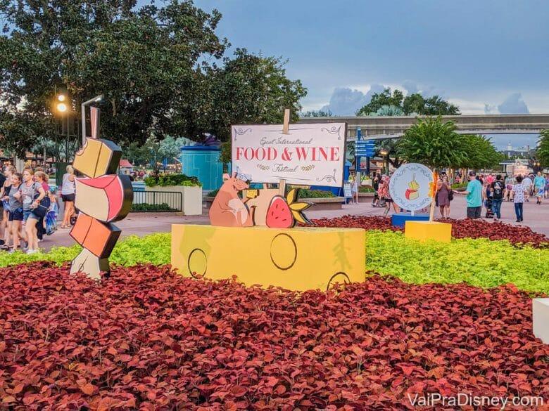 O Food & Wine Festival ocorre em setembro