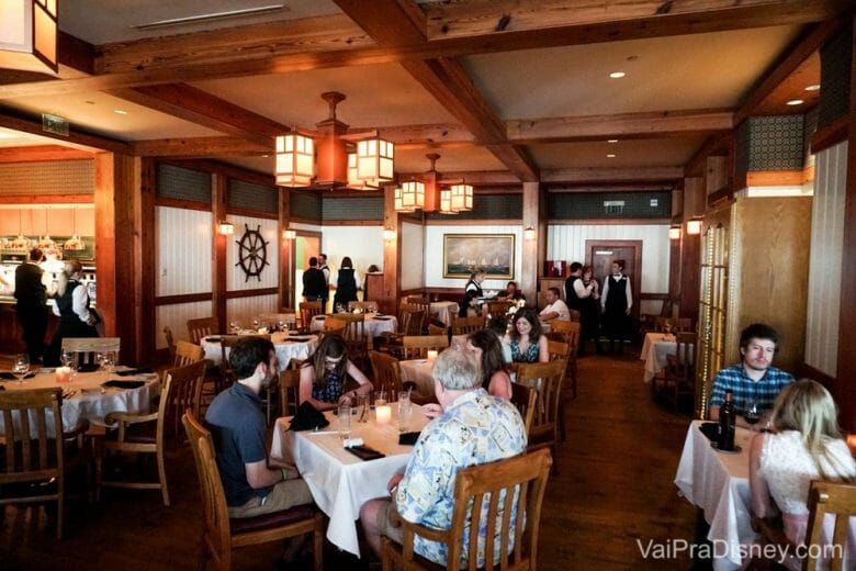 Mais um pouco do espaço do Yachtsman Steakhouse