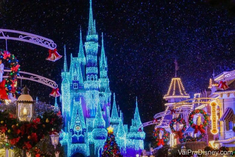 Na época de Natal e Ano Novo a decoração é maravilhosa!