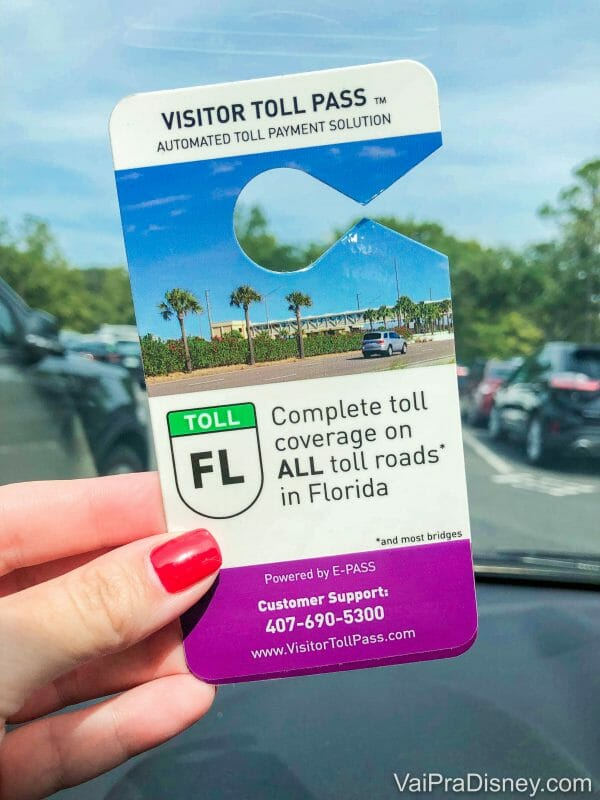 o tal do Visitor Toll Pass!