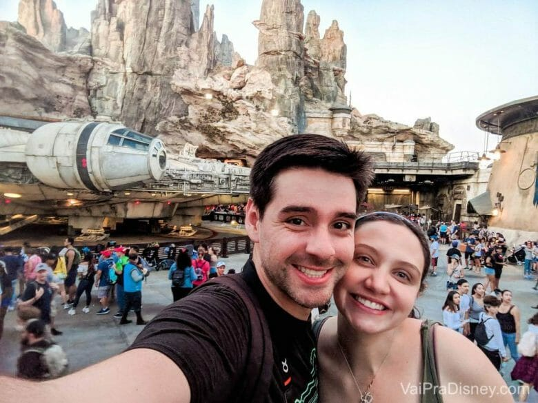 O acontecimento do ano aqui foi a chegada do Dani, mas em Orlando, foi sem dúvida a inauguração da tão sonhada Star Wars: Galaxy's Edge.