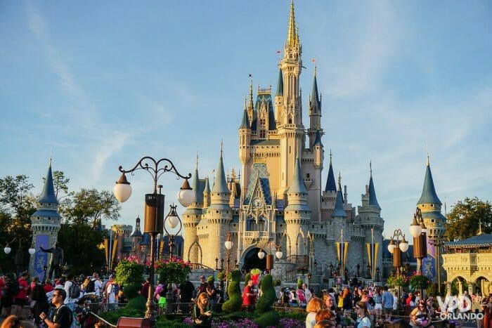Castelo da Cinderella no Magic Kingdom